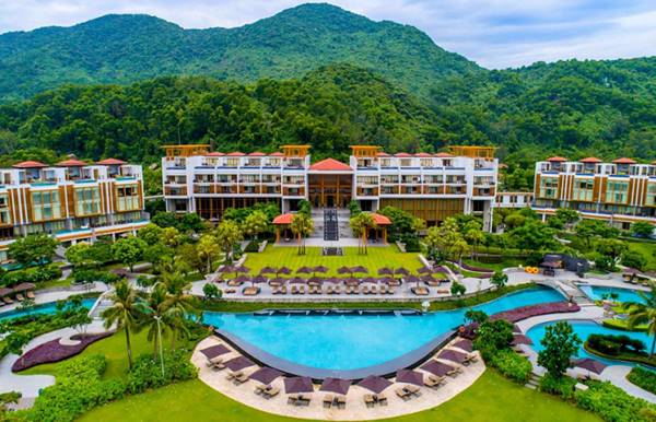 kiến trúc resort thế nào