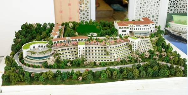 kiến trúc resort hấp dẫn