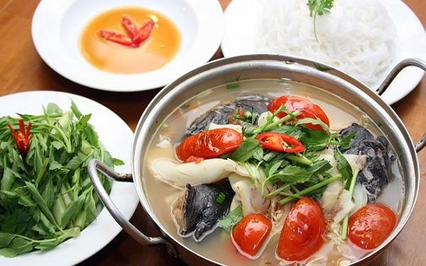 Nhâm nhi lẩu cá lăng thưởng thức hương vị đặc sản Đắk Lắk