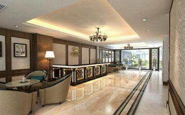 Top các mẫu mặt tiền khách sạn 2 sao đẹp từ cái nhìn đầu tiên
