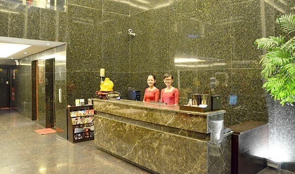 Phá cách với thiết kế sảnh khách sạn 2 sao