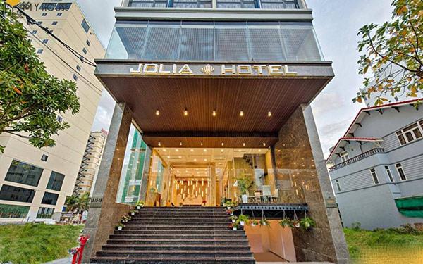 Thiết kế mặt tiền khách sạn 3 sao sang xịn hút mắt khách du lịch