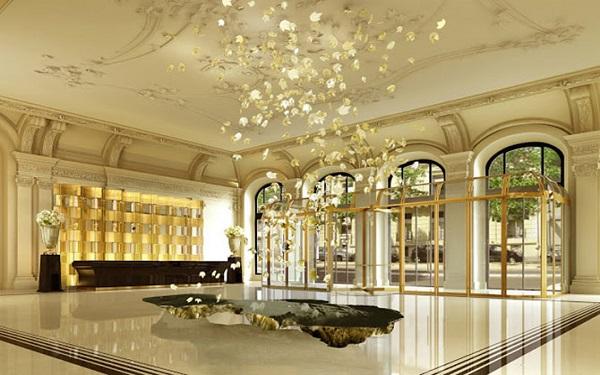 Mặt tiền khách sạn tân cổ điển: Sự giao thoa giữa cổ điển và hiện đại