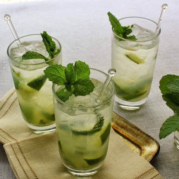 Mojito cocktail thơm nồng