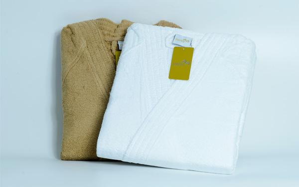 Phần lớn sản phẩm của Khăn Nguyễn được sản xuất bằng vải 100% cotton