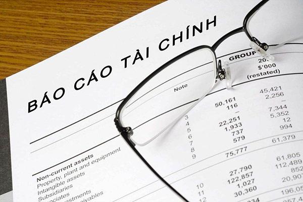 Báo cáo tài chính cần được lập ở cuối năm