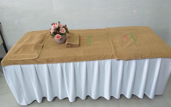Khăn trải giường của Nam Phong được đánh giá cao về chất lượng