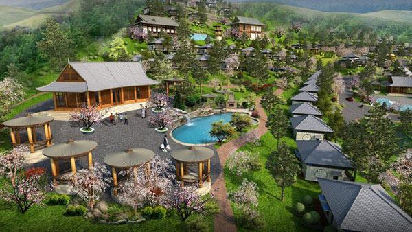 Resort cao cấp hòa mình vào khung cảnh thiên nhiên