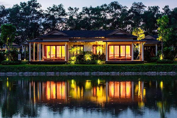 Khung cảnh bình yên đầy thư giãn - đây là cảm giác mà chủ resort muốn gửi đến khách du lịch