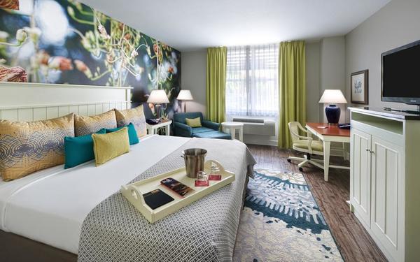 HOT! Các mẫu phòng ngủ khách sạn 5 sao đẹp từng centimet