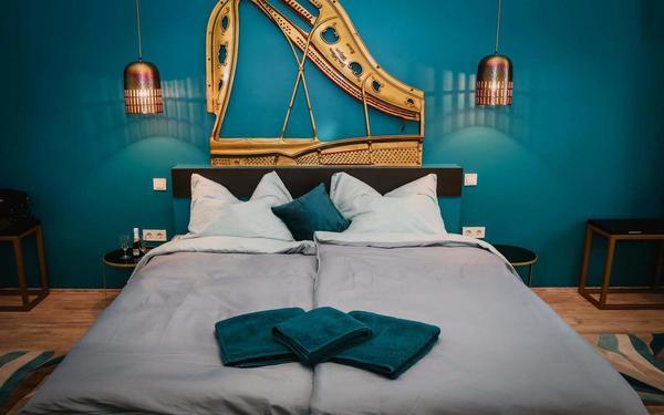 Chiêm ngưỡng hàng loạt mẫu phòng ngủ khách sạn mini giá rẻ mới lạ