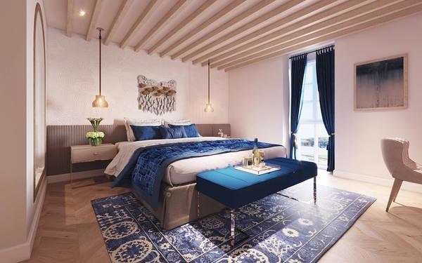 Cách thiết kế và bố trị nội thất đẹp mắt tọa nên vẻ đẹp quyến rũ cho phòng ngủ