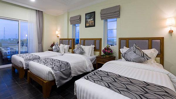 Triple bed room (TRPL) phù hợp với gia đình đông người hoặc nhóm bạn ở chung