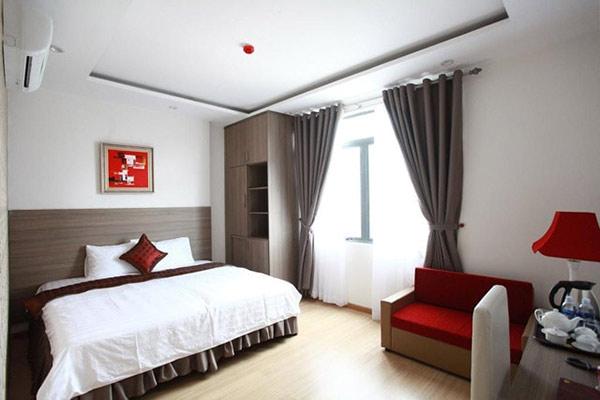 Phòng standard trong 1 khách sạn 3 sao