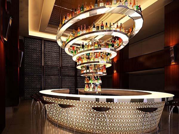 quầy bar khách sạn