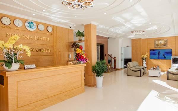 Cách bố trí quầy lễ tân khách sạn hợp phong thủy, hút khách nườm nượp
