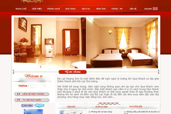 Nâng cao hình ảnh khách sạn trên Internet