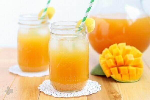 Soda xoài thơm ngon, bổ dưỡng