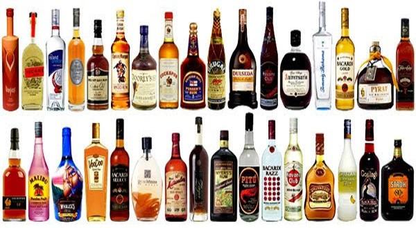 Phân loại rượu spirit