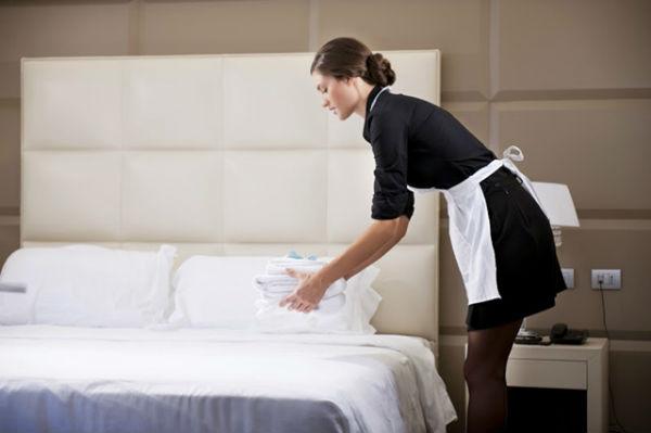 Hình ảnh về một Housekeeping staff