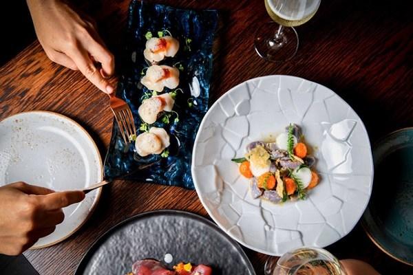 Khẩu phần của Tasting menu mỗi món ăn sẽ chỉ là một phần rất nhỏ