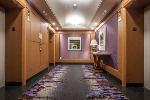 thiết kế hành lang khách sạn đẹp