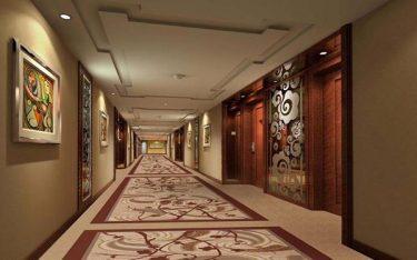 Quy chuẩn và top các mẫu thiết kế hành lang khách sạn đẹp, độc, lạ