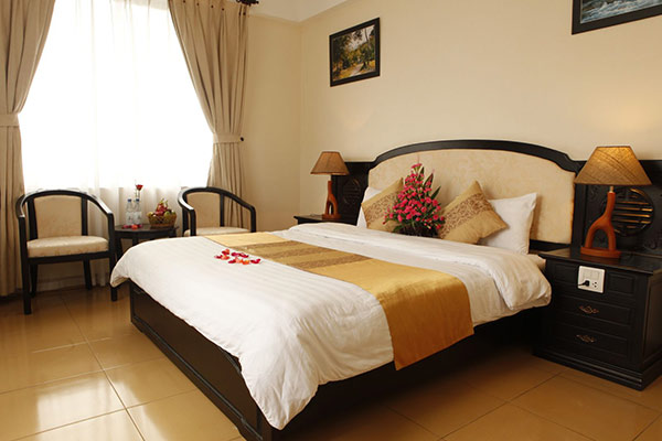 Phòng ngủ 1 giường cỡ lớn m6 x 2m