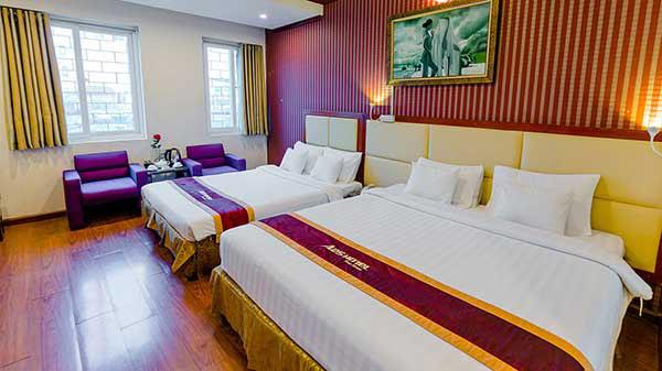 Phòng ngủ 2 giường dành cho 4 người