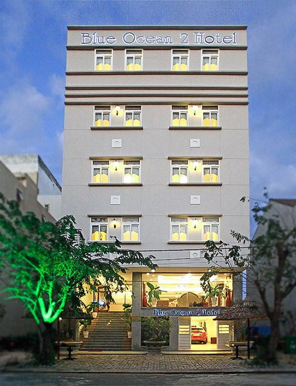 Với diện tích mặt bằng bé khách sạn có thể chồng tầng cao