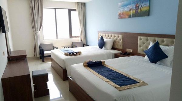 Phòng 2 giường dành cho gia đình