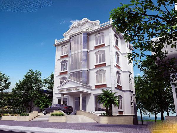 Khách sạn 4 tầng tiện nghi sang trọng
