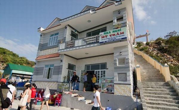 Nhà nghỉ Mỹ Trâm có vị trí thu hút du khách đến lưu trú