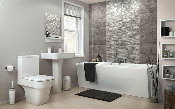 Thiết kế nhà vệ sinh kết hợp phòng tắm trong nhà nghỉ tại Vũng Tàu