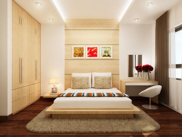 Nội thất nhà nghỉ 4 tầng hiện đại, sạch sẽ, giúp khách lưu trú thoải mái