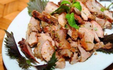 Thịt nhím đặc sản Kon Tum: Không chỉ ngon mà rất tốt cho sức khỏe
