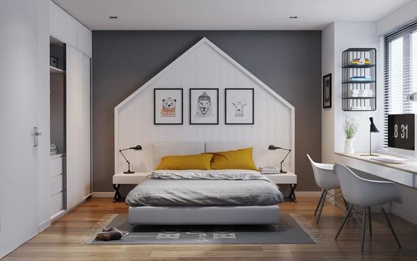 Thiết kế phòng ngủ trẻ trung trong nhịp sống hiện đại