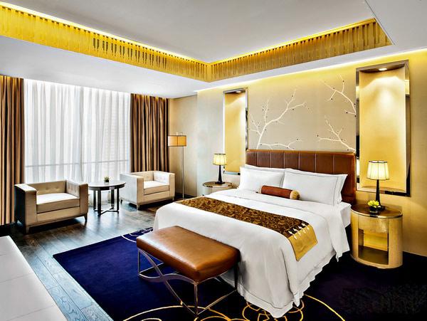Phòng ngủ khách sạn cần đảm bảo được yếu tố hài hòa màu sắc