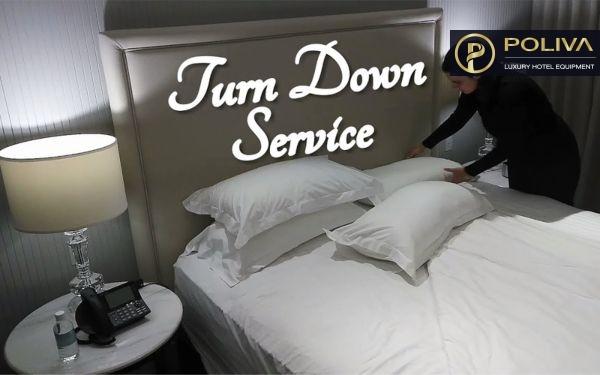 Turndown service là gì? Từ A-Z về công việc cần thực hiện