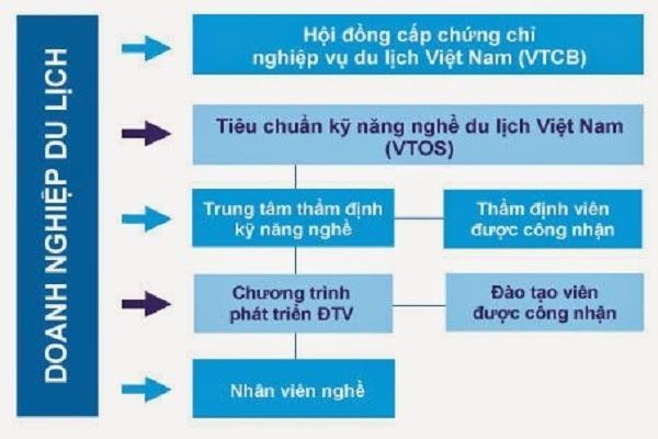 VTOS được nghiên cứu và phát hành tại Việt Nam