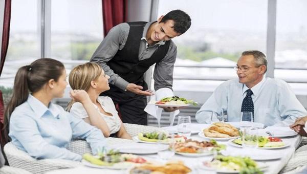 áp lực của vị trí waiter