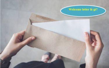 Welcome letter là gì? Cách tạo ra lời chào của khách sạn ấn tượng