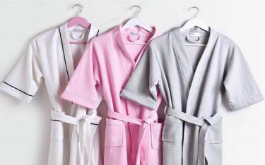 Áo choàng tắm khách sạn có mấy loại, chọn loại nào cho tốt?