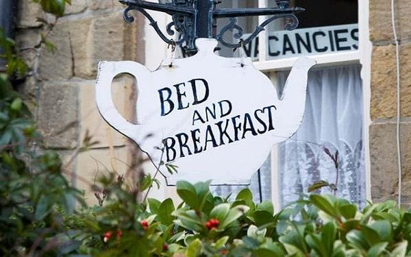B&B là từ viết tắt của cụm từ Bed and Breakfast