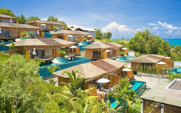 Phân tầng bungalow để du khách dễ chiêm ngắm cảnh đẹp thiên nhiên