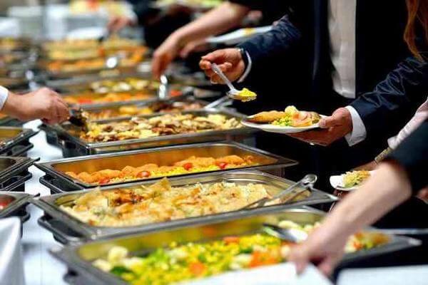 Những món ăn trong thực đơn Catering phong phú