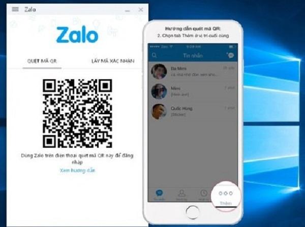 Sử dụng mã QR Zalo để tiến hành đăng ký và đăng nhập Official Account