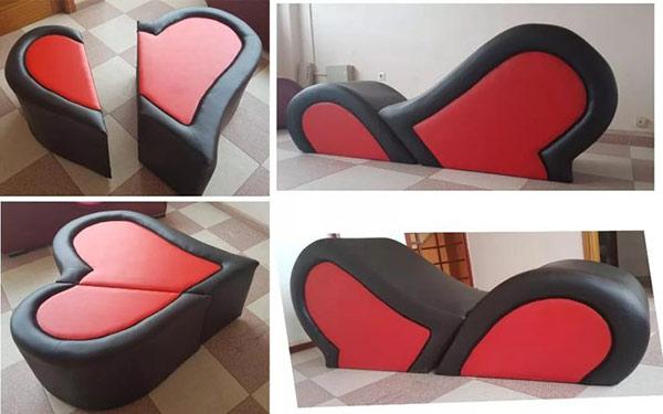 Mẫu ghế đốn tim rất nhiều cặp đôi