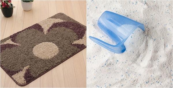 Bật mí bí kíp giặt thảm chùi chân sạch nhanh chóng tại nhà