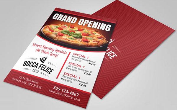 Xây dựng chiến lược quảng cáo, chương trình giảm giá phù hợp cho ngày khai trương